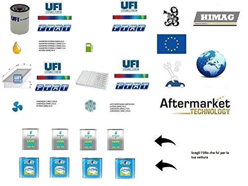 Kit Filtri Tagliando UFI + 4 litri Olio Selenia