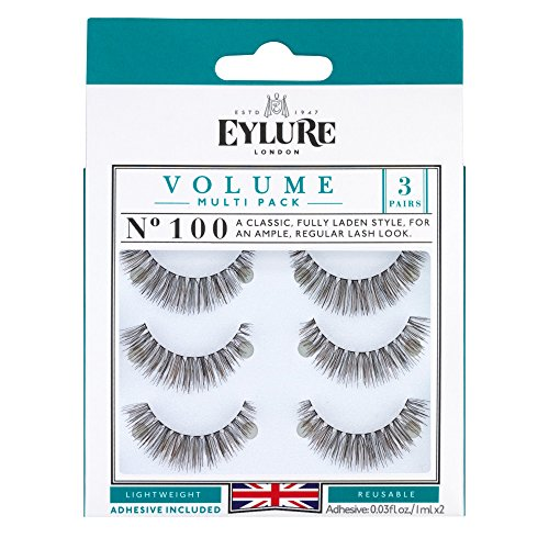 Eylure Volume Multi Pack Of 3 Wimpern No. 100