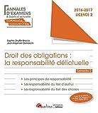 Droit des obligations : la responsabilité délictuelle - L2-S2...