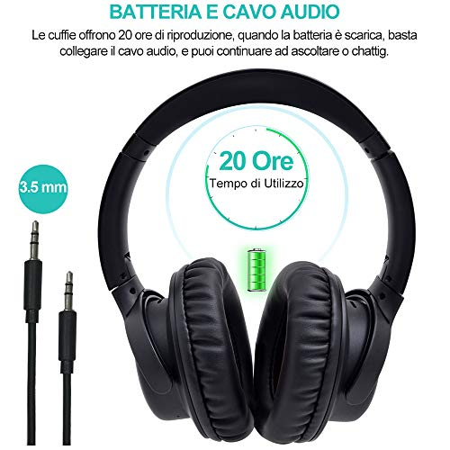Zoom IMG-2 yamay cuffie bluetooth 5 0
