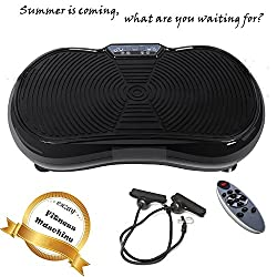 Befied Exerciser Vibrating Plate Full Body Vibration Trainer Crazy Vibrating Massage Home Office Gym EU Plug Carrying 150kg
