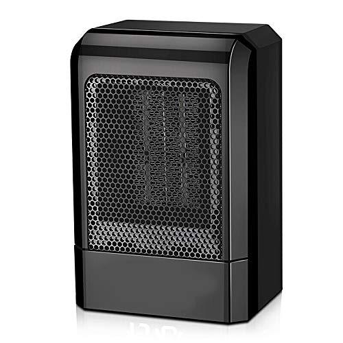 Xiao Heizung, Haushalt schnelle Wärmeheizung, Energieeinsparung, elektrischer Ventilator, Mini-Heizung, Büro, schwarz Raumheizkörper (Color : Black)