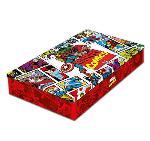 Marvel Les origines + Coffret métal par Steve Ditko, Jack Kirby, Stan Lee, Collectif