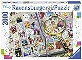 Ravensburger- Puzzle 2000 pièces Mes Timbres préférés Disney Adulte, 4005556167067