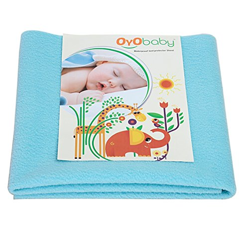 OYO BABY - Water Proof and Reusable Mat/Bed Protector/Absorbent Dry Sheets (70cm...
