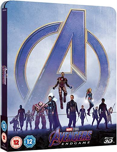 Preisvergleich Produktbild Avengers Endgame 3D Limited edition Steelbook / Import / Includes Region Free 2D Blu Ray.