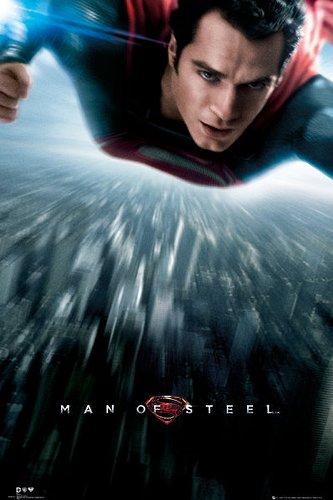 Póster Superman. Man of Steel