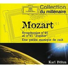 """Mozart : Symphonies n° 40 et n° 41 """"Jupiter"""" - Une petite musique de nuit"""