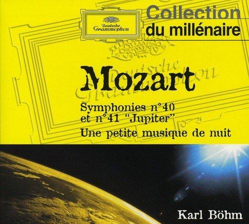 MOZART - Symphonies N° 40 et 41 - Une petite musique de nuit