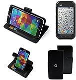 360° Schutz Hülle Smartphone Tasche für Caterpillar Cat