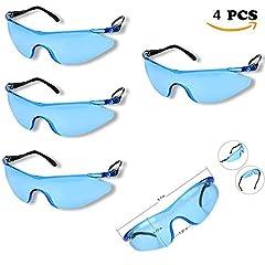 Idea Regalo - kinder, kinder, graue belastbar bruchsicher outdoor - spiel schutzbrillen schutzbrillen brillen für gewarnt n-strike elite waffe spielzeugpistole spiel augenschutz (4pcs)