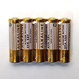 5 Stk. Ersatzbatterien 27A / 12V / ALKALINE Batterie für z.B. Universal Ersatz Handsender Garagentor/Garagentoröffner QL1 und baugleiche (Batterie-Vergleichstypen A27/LR27A/E27A/V27A/V27PX/V27GA/VA27GA/VR27/L728/L828/MN27/MS27/G27/GP27/G27A/GP27A/WE27A/CA22/UM27A/K27A/27AE/A27S/P27GA/EPX27/KX27/RPX27/R27/HS3/NR43/EL812/EL8212/R27A/8LR732/B-1/snn4176 A/alk27 A/a27bp/12V Alkaline, L=27mm, D=7,7mm - 5er Pack, Multi-Sparpack) Verwendung z.B. in Fernbedienungen, Uhren, Digitalkameras,... von QL1®
