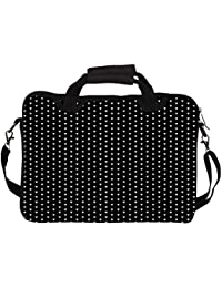 """Snoogg Hipster Case With Shoulder Strap Handle 13"""" 13.5"""" 13.6"""" Inch Laptop Notebook SlipCase With Shoulder Strap..."""