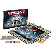 Board Game - Assassin's Creed Monopoly Board Game - Winning Moves by Hasbro