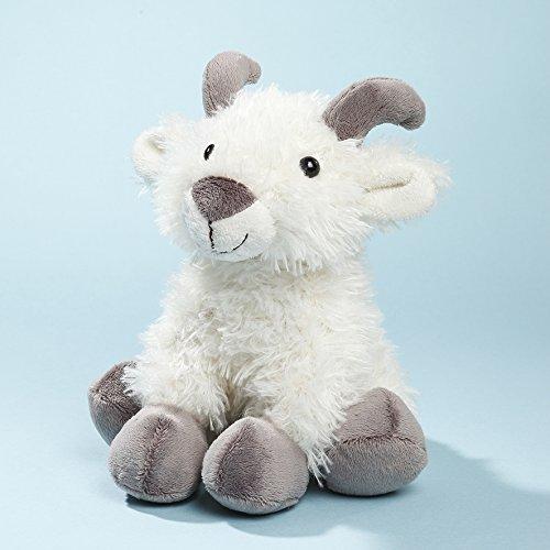 Preisvergleich Produktbild EBO 60554 - Ziege, 18 cm, weiß, sitzend