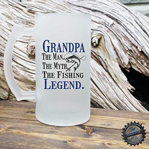 Fishing Grandpa Gift,Fisherman Gift,Grandpa Mug,The Man The Myth,The Fishing Legend,Fishing Mug For Grandpa,Gift For Grandpa,Fishing