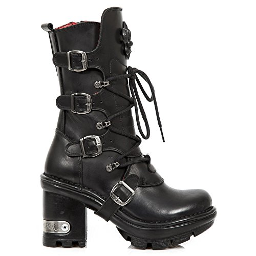 New Rock M Neotyre05 S1, Bottes Motardes Femme BLACK, BLACK