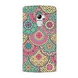 Qrioh Lenovo K4 Note Case, Lenovo K4 Note Printed Cover, Lenovo K4 Note Back Cover Case - Colorful Mandala Case