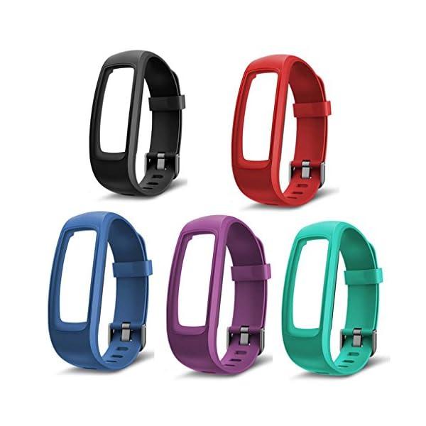 siwetg Pulsera De Correa De Repuesto para Monitor Fitness Tracker para Reloj Inteligente ID107 Plus 3