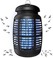Bug Zapper & Attractant - Effective Electric 220V Mosquito Zappers/Killer - Insect Fly Trap, Waterproof Ou