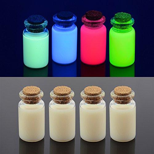 Unsichtbare UV-Tinte für EPSON Inkjet Drucker 4Farben Set, Drucker Tintenpatronen (Kompatible Uv-lampe)