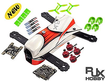 RJX 3D+ X- Speed FPV CAOS 250 Racing Drone RC Quadcoper Kit -Unassembled