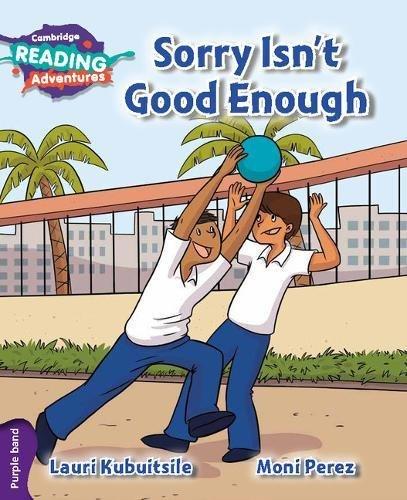 Sorry isn't good enough