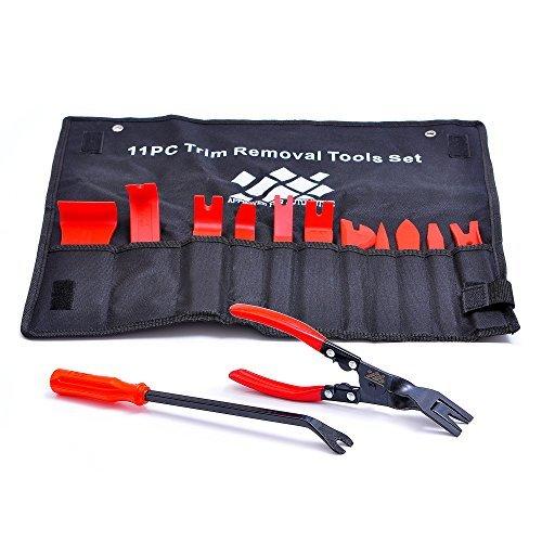 AFA [13PCS] Auto Polster Werkzeuge?Starke Nylon zerbrechen nicht wie ABS?Bonus Clip Zange & Verschluss Entferner