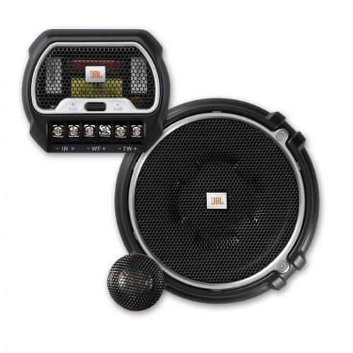 JBL GTO 508 C 2-Wege Komponenten Car-Hifi Lautsprecher (13 cm, 165 Watt, 91 dB) schwarz