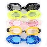 ZJHK ZJHK Schwimmbrille Professionelle Elastische Erwachsene Kinder Anti-Fog wasserdichte Schutz Einstellbare Schwimmbrille Brille