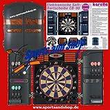 E-Dart-Automat Karella CB-90 Dart-Scheibe -Board Dartspiel 2Loch-Abstand Wurfspiel Dartautomat Elektronische