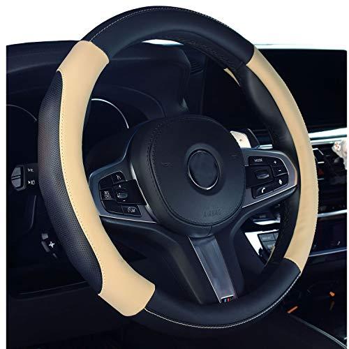 2019 Nuova copertura per volante dell'automobile in pelle microfibra coprivolante b