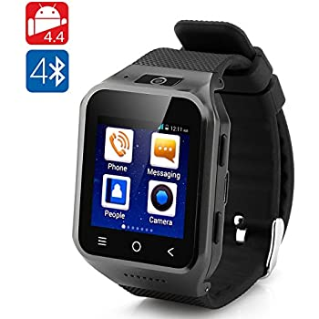 Reloj Teléfono ZGPAX S8 Android 4.4, cámara 5 mp (Negro) | Movil