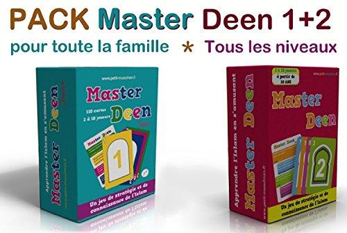 ORIENTICA Pack MasterDeen : Master Deen 1+2 (Tous Niveaux Pour Toute La Famille)