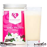 Whey Protein Concentrate & Whey Isolate with Papain and essential Vitamins / WOMEN'S BEST Post workout shake – With high bio-availability and amino acids content / For Muscle building and Weight loss - 500g powder / VANILLA