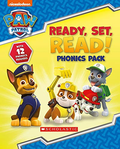 book phonics box (Paw Patrol) ()