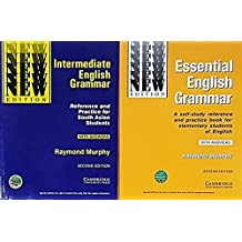 Cambridge Essential + Intermediate English Grammar (Set of 2 Books with Answers)