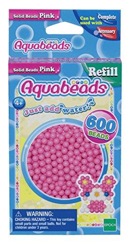 Aquabeads 32588 Perlen Bastelperlen nachfüllen pink