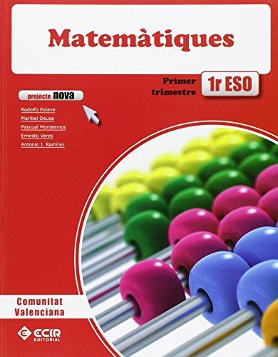 Eso 1 - Matematiques - Nova (valencia) por Aa.Vv.