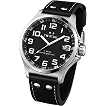 TW Steel - Reloj unisex Resistente al agua negro