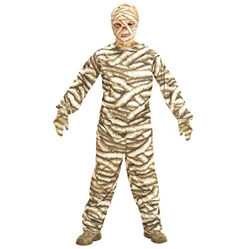 Kostüm Braun Ideen Halloween (Widmann - Kinderkostüm Mumie)