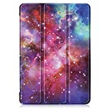 TTVie Case for Lenovo Tab E10, Ultra Slim Lightweight Smart Shell Stand Cover for Lenovo Tab E10 10.1 Tablet 2018 Release, Milky Way
