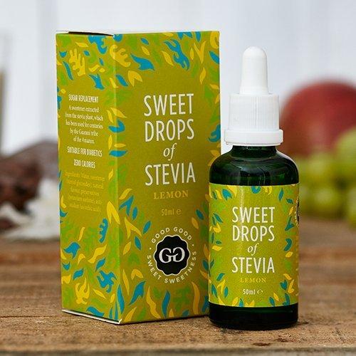 Diabetiker Tee (Good Good Stevia Tropfen (50ml) – 11 Aromen Auswahl! Zuckerfrei und natürlich! Das Wundermittel für Diabetiker! Für Ihren Kaffee oder Tee am Morgen, den Smoothie oder das Frühstück! Backen war nie gesünder! (Zitrone))