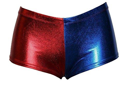FK Styles Damen Short Gr. X-Large, blau / rot