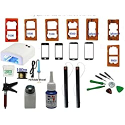 GOWE Tools Kit refurbish LCD Display Touch Screen Front Glass Separate Repair for iPhone 4 5 Galaxy i9500 i9300 i9100 N9000 N7100