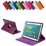 Bralexx Universal Tablet-Tasche für Gigaset QV1030 (26,3 cm (10 Zoll)) violett