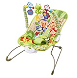 Teeny Fish Baby Bouncer Rocker - with Soothing Vibrations and Musical Box