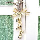 LEEDY Squisito in Ferro battuto di Campana Ciondolo Sezione Tonda, Xmas Decor Ciondolo Ornamento Decorazioni Natalizie Accessori B