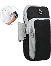 Allcaca Sports Armband Arm Bags Waterproof Running Arm Pouch Sweatproof Exercise Arm Bags, Suitable For Most Phones...
