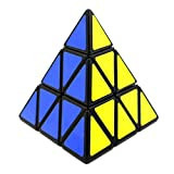 HuntGold 1Pc 3x3x3 triángulo del Giro suave Puzzle juguete de plástico lindo Cubo Mágico